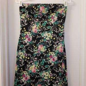 Laundry Black Floral Convertible Dress
